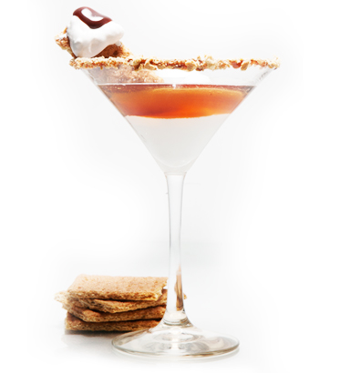 S'more-Tini: A liquid version of everyone's favorite ...