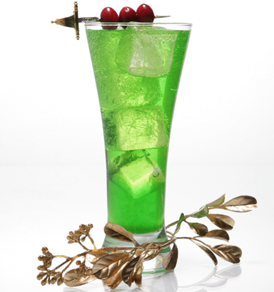 Get into the holiday spirit with quot the grinch quot cocktail recipe clique