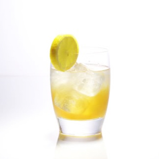 """Mango Collins"" an immune boosting cocktail recipe!"