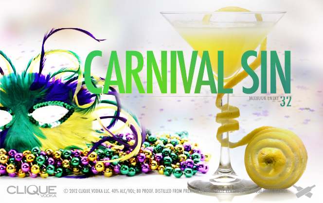 Fat Tuesday Cocktails: Carnival Sin
