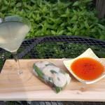 Cocktail Pairing: Summer Rolls and Zen Gardens