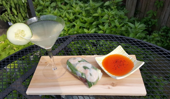 Cocktail Pairing: Summer Rolls and Zen Gardens